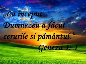 Geneza 1, 1
